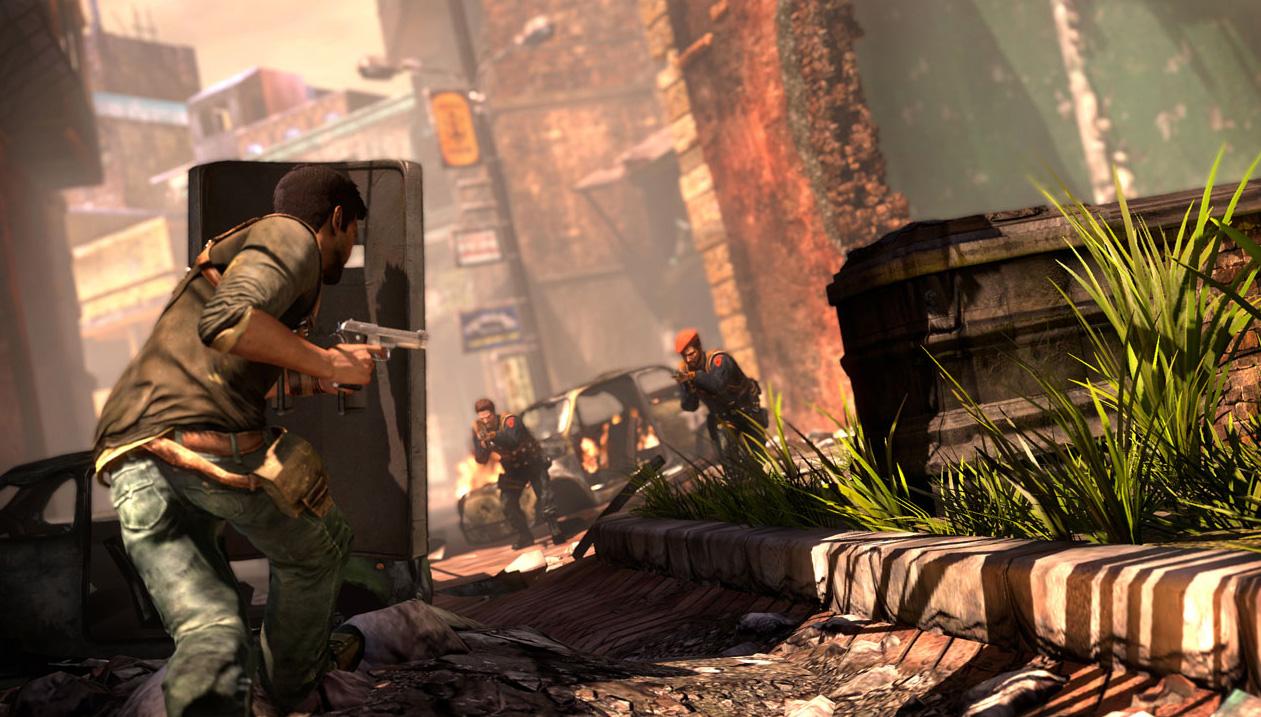 Uncharted 2 как залезть в окно