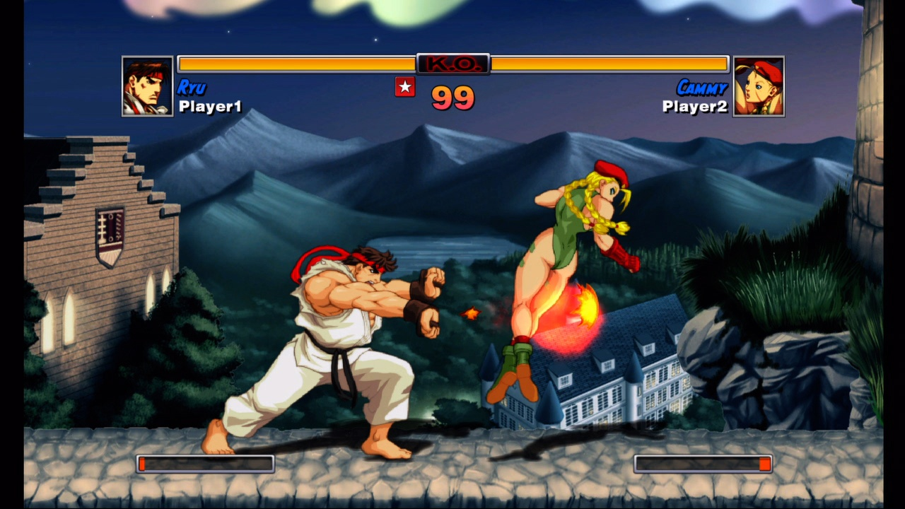 Super Street Fighter II Turbo HD Remix version for PC
