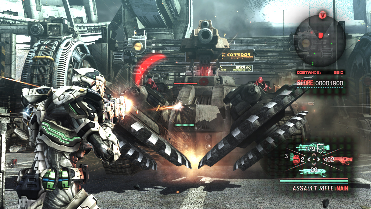 Vanquish version for PC - GamesKnit