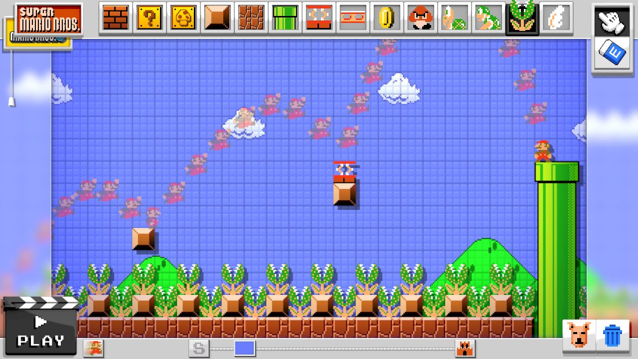 Super Mario Maker version for PC - GamesKnit