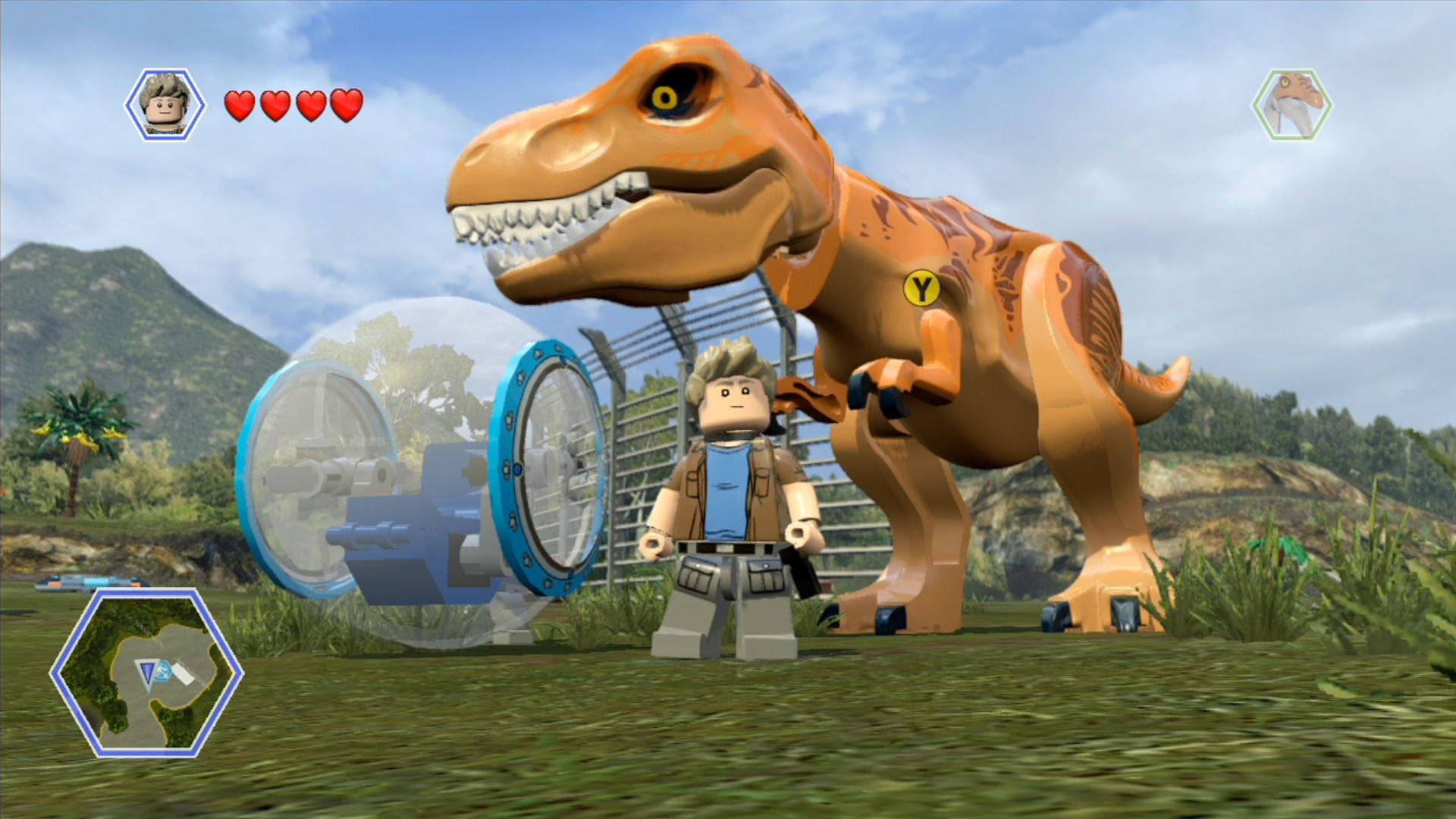 Lego Jurassic World version for PC - GamesKnit