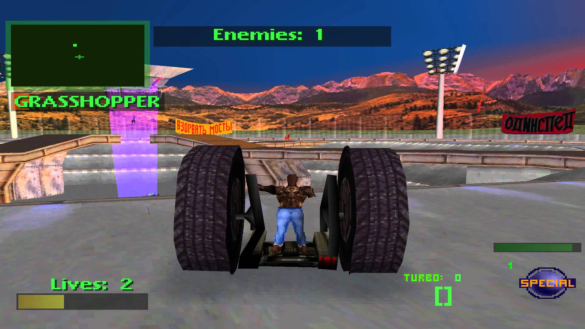 vTwisted Metal 2