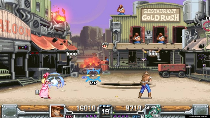 Wild Guns Reloaded version for PC