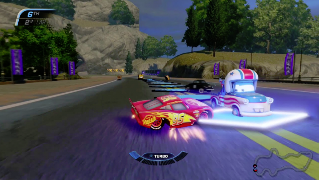Cars 3 Driven to Win gameplay