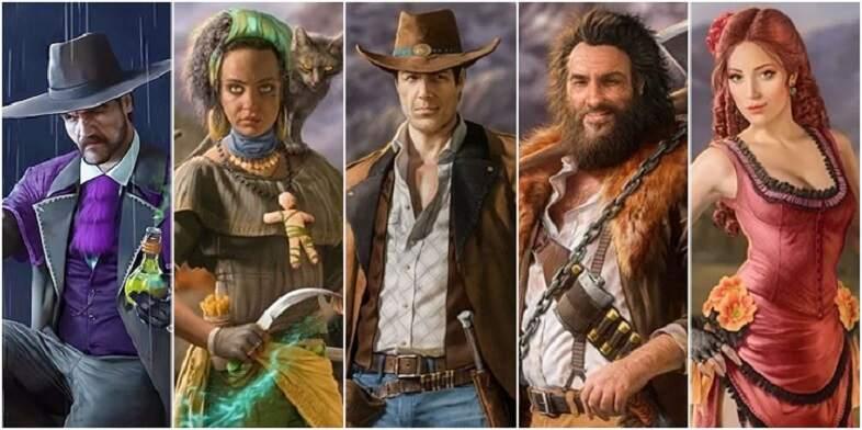 Desperados III Full Characters